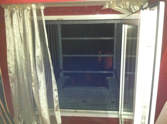 SKADA-City Cölln Hotel: Der Blick aus einem der Zimmer