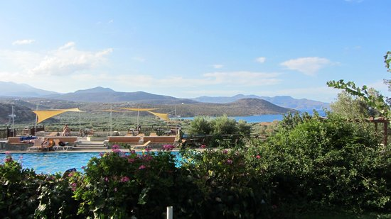 Elpida Village: pool area