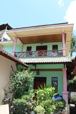 Blue Star - Bali : Kamers beneden en boven