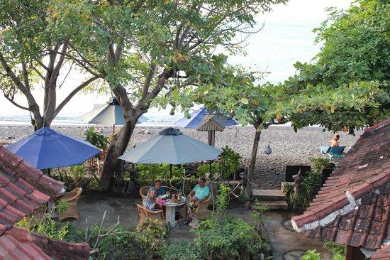 Blue Star - Bali : Uitzicht vanuit de kamer