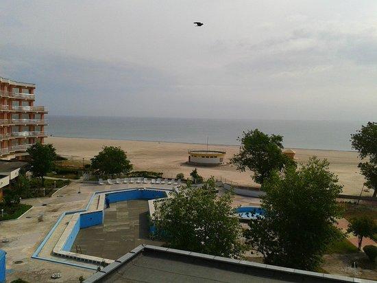 Comandor Hotel: Zimmeraussicht Pool und Strand