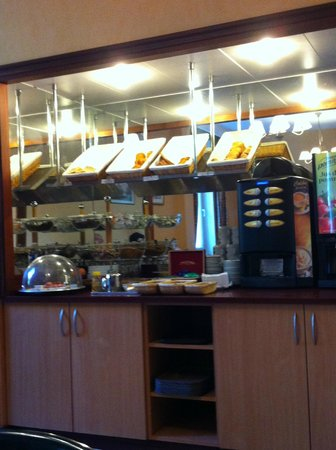 Hotel Albert Elisabeth : Buffet petit déjeuner