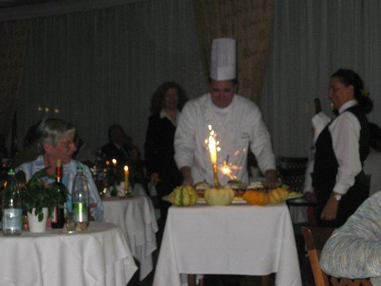 Best Western Hotel Terme Imperial: Cena dell'Anniversario