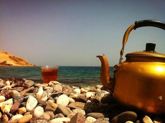 Maagana Camp Nuweiba: marmaria marramia tea