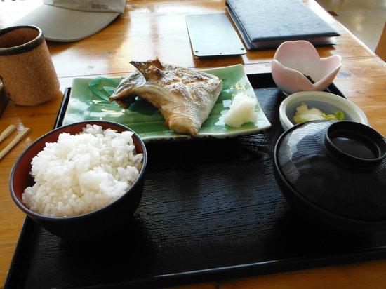 Manazurusakanaza : 真鶴 魚座(カンパチのカマ焼き定食)