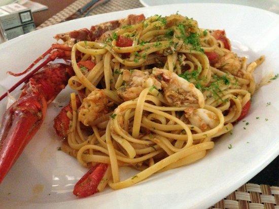 Cucina Mia Restaurant : Lobster Pasta