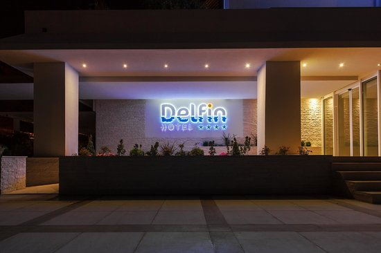 Bijela, Montenegro: Entrance in the night