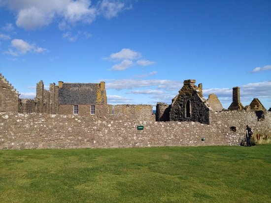 Photo from inside the grounds of Dunnottar Castle