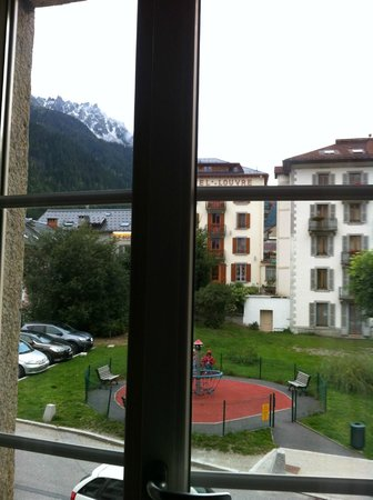 Hotel Le Chamonix: View from my room