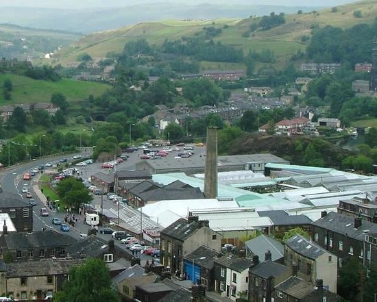 Todmorden, UK: Buildings
