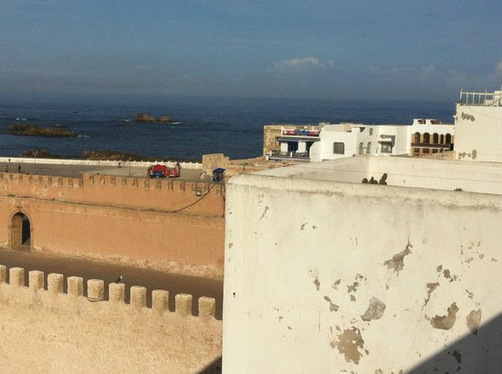 Madada Mogador: view from the breakfast terrace !!