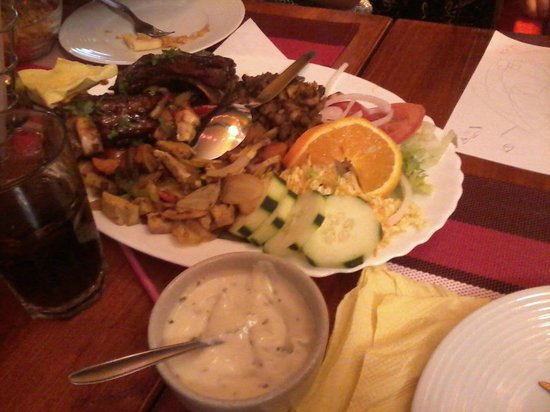Shalom : Mixed grill for 2