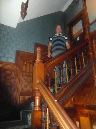 Ty'r Graig Castle: the stairs