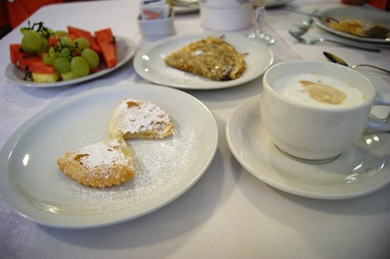 Hotel Stresa: Personal Present for breakfast