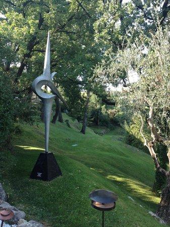 Le Mas Candille: magnifiques sculptures...