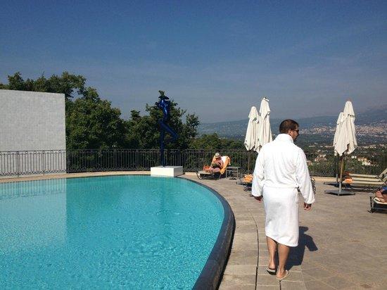 Le Mas Candille : Quel bonheur cette piscine!