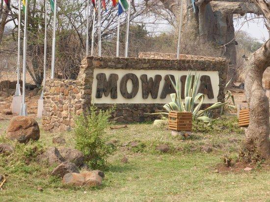 Cresta Mowana Safari Resort and Spa: Einfahrt zur Lodge