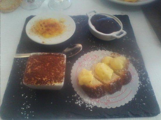 Ristorante Il Toscano: Selezione dolci (tutti ottimi)