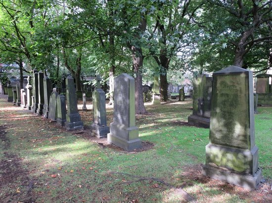 St Cuthbert's Church: graveyard
