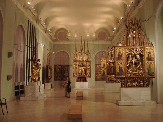 Ungarische Nationalgalerie (Magyar Nemzeti Galéria): Autels