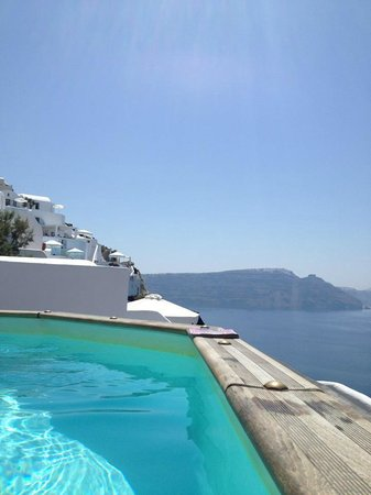 Nostos Apartments: View from the pool