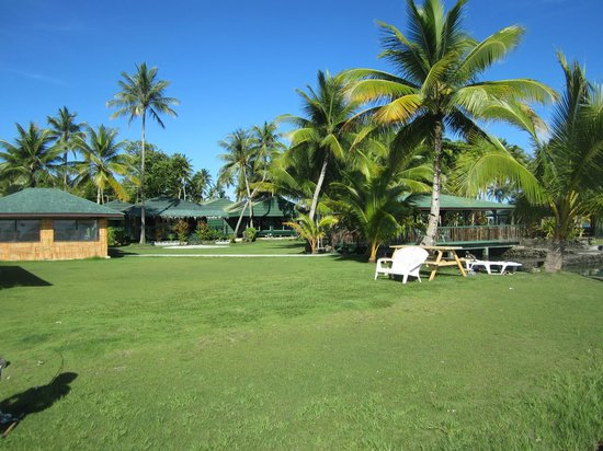 Truk Blue Lagoon Resort : ホテル敷地内
