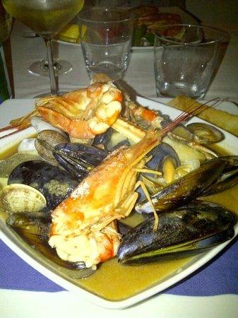 Ristorante S'Andira: una zuppa di pesce eccezionale
