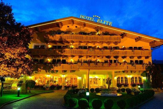 Hotel Elite Seefeld : Vorderansicht - Haupteingang