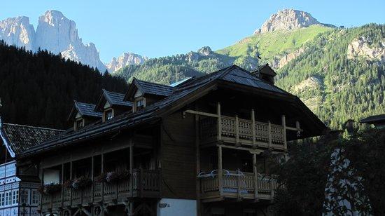 Alpenhotel Panorama : dalla finestra