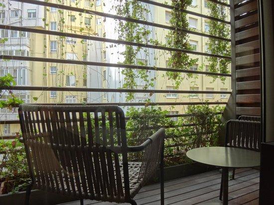 Hotel Omm: ベランダ