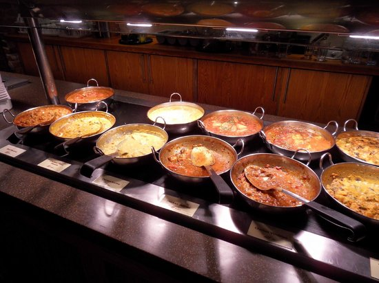 Premier Inn Weymouth Seafront Hotel : Curry buffet