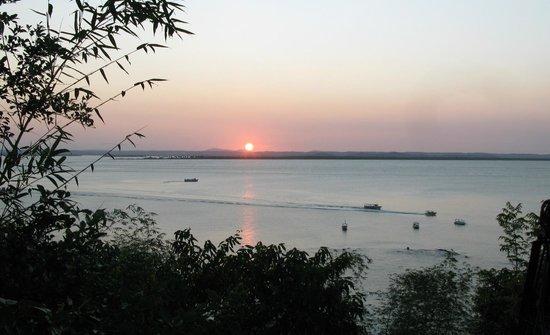 Villa-Bahia Apartments: Sonnenuntergang auf der Terrasse