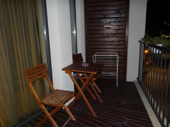 Regina Maria Spa Design Hotel: Room balcony