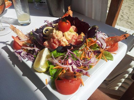 les canaris : La salade Saint Clair