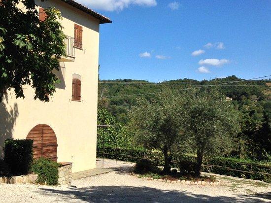 San Lorenzo della Rabatta: Vista laterale (accesso ristorante)