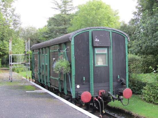 The Old Station: Railway Carriage