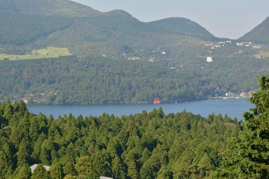 Hakone Pass Tourist Information (Michi-no-Eki): 芦ノ湖の眺め