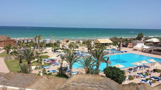 """Djerba Mare: Panorama offerto da camera """"vista mare"""" al 2° piano"""