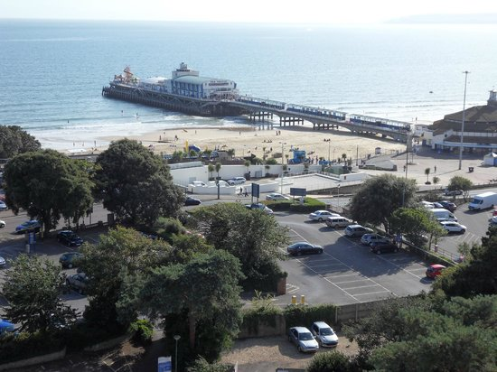Premier Inn Bournemouth Central Hotel: View from 609