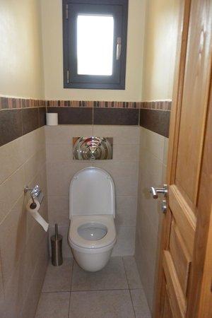 Casa Martini : Toilettes séparées