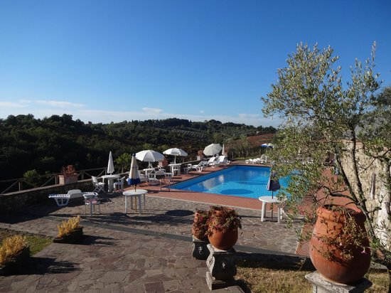Villa Gloria: La piscina