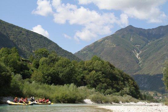 Reka Hisa: Rafting on the Soca River