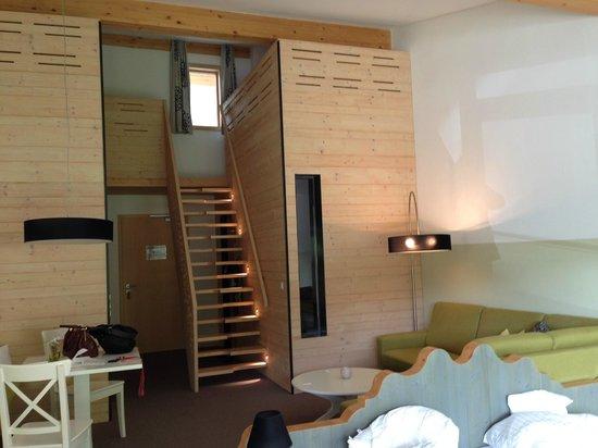 Hotel Lindenwirt: Zimmer mit Galerie