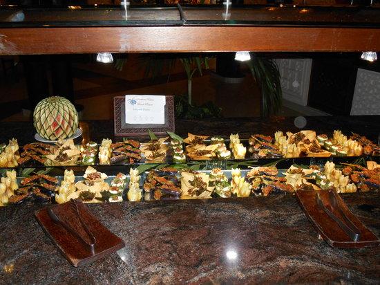 Southern Palms Beach Resort: Le buffet