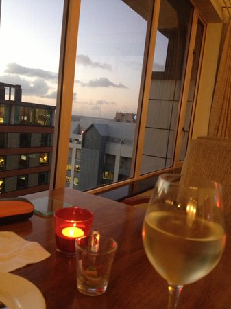 Crowne Plaza Auckland : view from Club Floor to habour