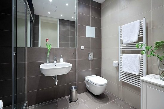 Studio Apartment Bathroom chic studio apartment - picture of retezova apartments, prague