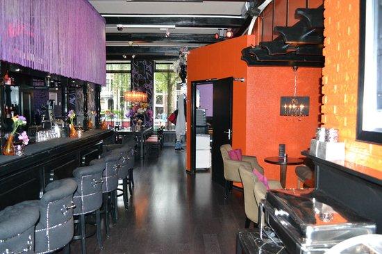 Hotel Sebastian's: Bar/Lounge area