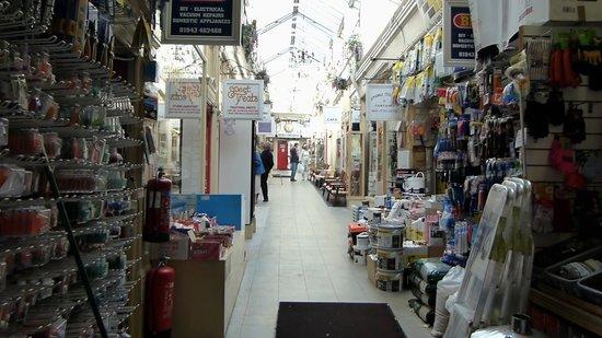 Kirkgate Arcade Shopping Centre: Looking Up Arcade