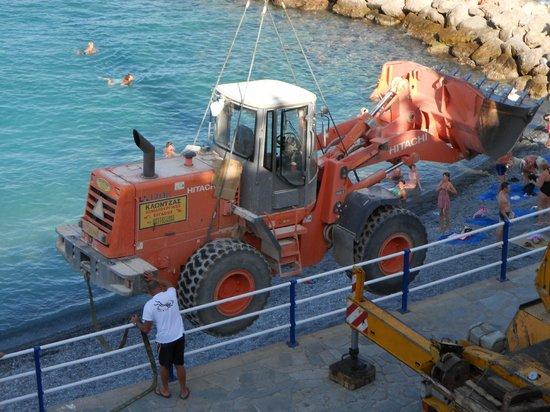Coral Hotel: making beach wider!