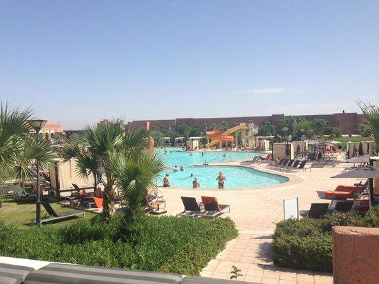 Piscine des petits picture of kenzi club agdal medina for Club de piscine